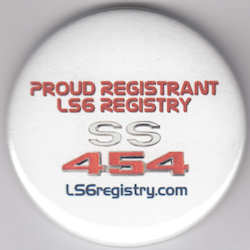 LS6 Registry Pin