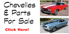 LS6 Chevelles For Sale